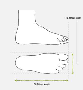 Blink Footwear Size Chart